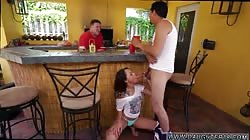 Mother friend's daughter team and horny mom fucks friend's daughter and